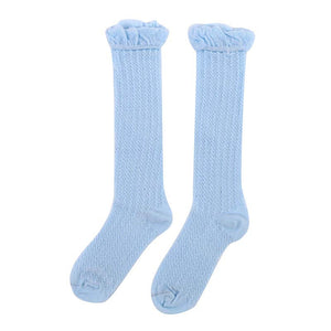 0-3Y Toddlers Baby Girls Boys knee high Socks leg warmers solid cotton good air permeability sock for newborns infantile