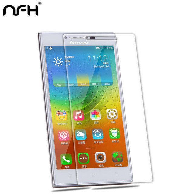 0.3mm Tempered Glass Film For Lenovo P70 P70T P780 K3 A6000 K3 Note A536 A319 S660 S850 A850 Screen Protector Explosion-Proof