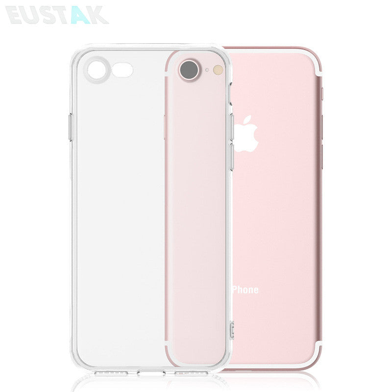 differently 1a843 3d977 0.3mm Ultra Thin HD Clear Crystal Soft Silicone Clear Case For iPhone 7  Plus Transparent TPU Cover for iPhone 6 6s 7 5 5s SE