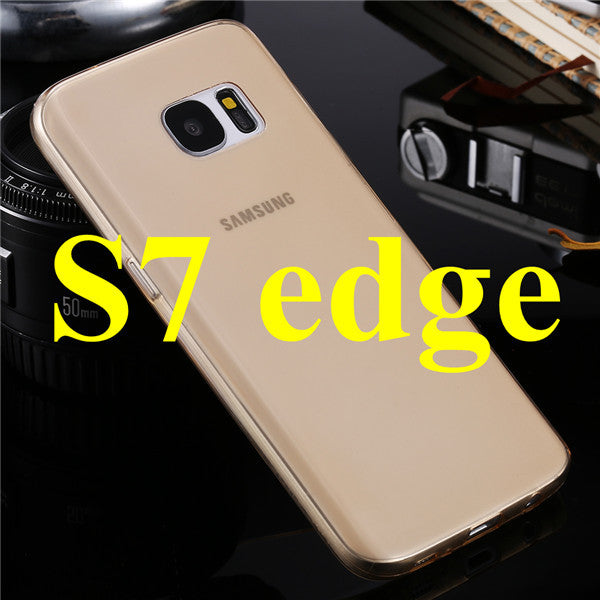 0.3mm Ultra Thin Soft TPU Case For Samsung Galaxy S7 S7 Edge S7 Plus Crystal Clear Slicon Rubber Gel Candy Colorful Back Cover
