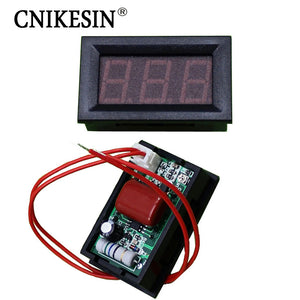 0.56 inches AC30-500V Two line LED digital display voltmeter 220 380 ac voltage measurement Digital display meter