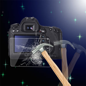 0.5mm Camera Tempered Glass LCD Screen Panel Film Protector HD Guard Waterproof Cover For Canon EOS 6D DSLR Camera