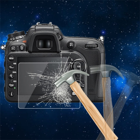 0.5mm Camera Tempered Glass LCD Screen Panel Film Protector HD Guard Waterproof Cover For Nikon D7200 Camera Wholesale