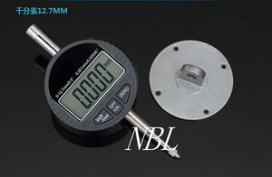 "0.001mm Electronic Micrometer 0.00005"" Digital Micrometro Metric Inch Range 0-12.7mm 0.5"" Dial Indicator Gauge With Retail Box"
