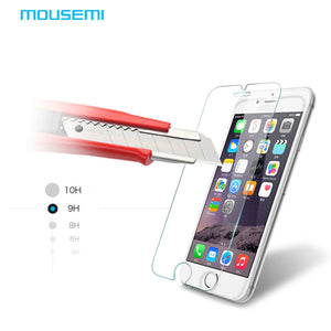 0.26mm For iPhone 6 Glass Toughened Rrotective Film For iPhone 5 5s 6s 6Plus Tempered Glass For iPhone4 4s Screen Protector