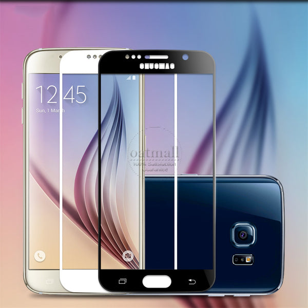 0.26mm Full Screen Tempered Glass Film For Samsung Galaxy S7 S6 Screen Protector 9H Gorilla Glass protective Glass On S7 Saver
