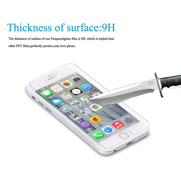"0.26mm Real Tempered Glass Film for iphone 7 Screen Guard Protector for iPhone 7 4.7"" 7 Plus 7Plus 5.5inch"