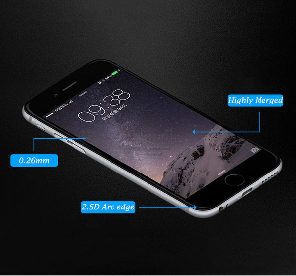 0.26mm Tempered Glass Film For Huawei Honor 8 7 6 plus Glass Screen Protector For Huawei Honor 6S 6x 5A 5c 5x 4x 4c 3c Glass 9H