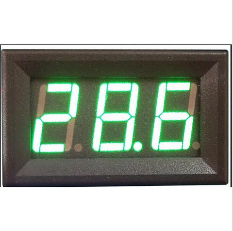 "0.56"" Green Digital Voltmeter 4.5-30v DC 4.5V to 30V Digital Voltmeter Voltage Panel Meter 6V 12V 24V Electromobile Motorcycle"