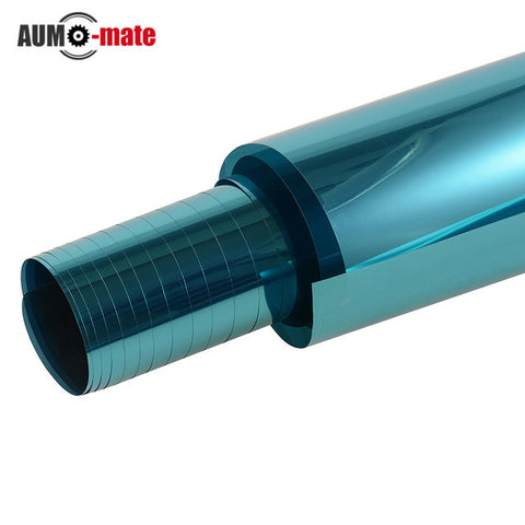 0.5m*3m Blue Car Side Window Foils Solar Protection Auto Window Tinting Film