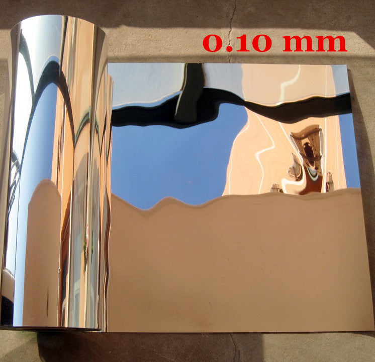 0.5m x 1m Reflective Solar Film Decorative Mirror Foil Waterproof Self Adhesive Mylar mirrored contact paper luminous
