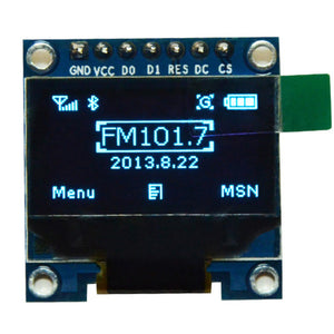 "0.96 inch IIC SPI Serial 128X64 Blue OLED Display Module I2C LCD Screen Board 0.96"" SSD1306 for Arduino stm32 51"