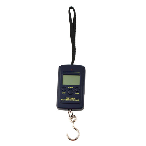 016 Newest Protable 10g 40Kg Pockets Digital Scale Electronic Hanging Luggage Multi Used Balance Weight Steelyard Black