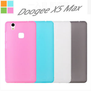 03 DOOGEE X5 MAX Case High Quality Protector Matte TPU Silicone Case Back Cover for DOOGEE X5 MAX Doogee X5 MAX PRO