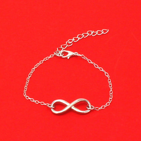 088# Hot New 2016 Bijoux Fashion Vintage Infinity 8 Bracelet For Women Bracelets Gift Wholesale Bangles Men Jewelry Aliexpress