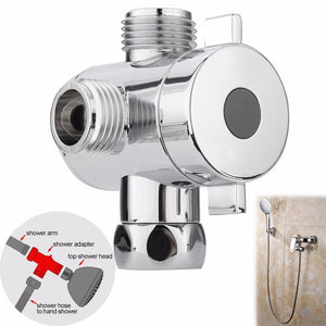 1 2 Inch Three Way T-adapter Valve Toilet Bidet Shower Head Diverter Valves For Bathroom Accessories