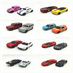 1:64 Racing Alloy car model slither car Multiple style combinations Various models of car models kids toys Beetle Mini Dodge