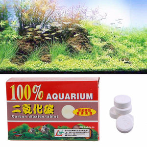 1 Box 36pcs Aquarium CO2 Carbon Dioxide Tablets For Plants Aquarium Fish Tank Diffuser Plant Aquario Accessory