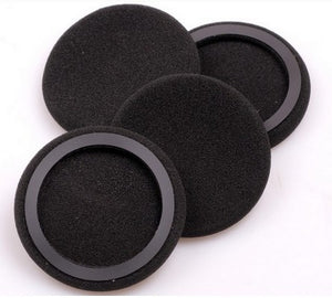 1 Pair 2Pcs 57mm Soft Foam Earbud Headphone Ear pads Replacement Sponge Covers For Earphone K420 K412P K403 PX90 H053