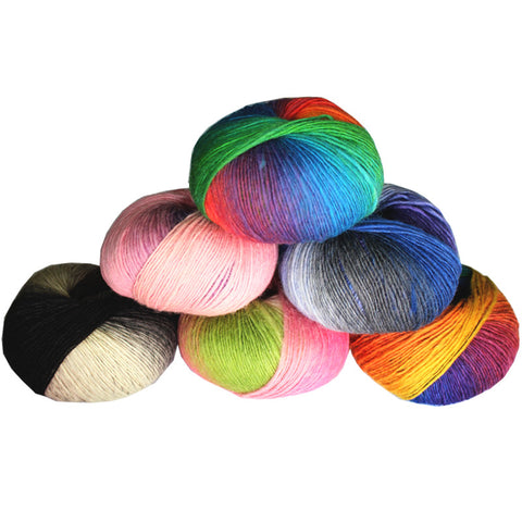 1 ball 100% wool yarns luxury quality fancy iceland thick Hand knitting for yarn knited Melange yarn Worsted Cashmere Wool Yarn