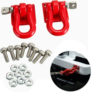 1 Pair 1 10 Trailer Hook 1:10 Scale Accessory For RC Crawler SCX-10 Truck For Rc Car Parts