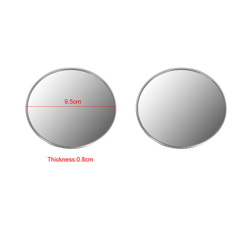 1 Pair 4 Inch Car Blind Spot Mirrors Hot Sale Rearview Mirror Truck View Mirrors Rearview Wide Angle Round