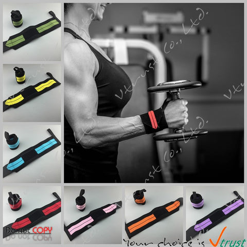 1 pair Adjustable Wrist Wrap Wrist Support Sport Wrist band Bandage Support Band Gym Strap Safety Crossfit wrap