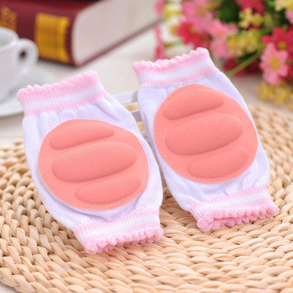 1 Pair Kids Children Safety Crawling Elbow Cushion Infants Toddlers Baby Knee Pads Protector Leg Warmers Baby Kneecap
