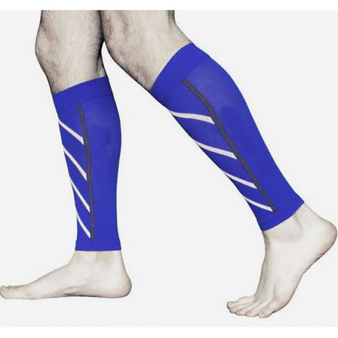 1 Pair Motion compression Leg Sleeves Calf Support Compression Leg Sleeve Sports Running Socks Outdoor Exercise LM93