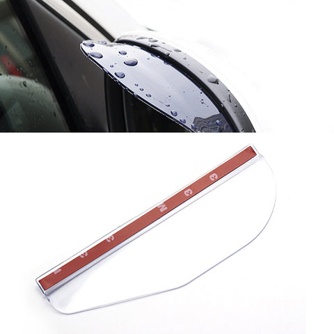 1 Pair New Universal PVC Car Rearview Mirror Rain Shade Rainproof Blades Back Mirror Eyebrow Rain Cover Car Accessories #iCarmo