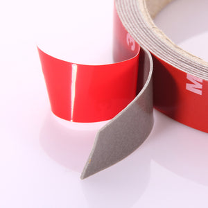 1 Pc 2.5M X10mm 3M X 20mm Car Sticker Double Foam Faced Adhesive Tape Auto Sticker fit for Car Truck Car Accessories