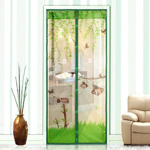 1 pc 2016 New Arrival Magnetic Mesh Screen Door Mosquito Net Curtain Protect from Insects Four Colors 90*210cm 100*210cm