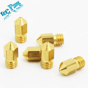 1 pcs 0.4mm 0.3mm 0.2mm 0.5mm 3D printer extruder nozzle Print head MK8 Makerbot common use