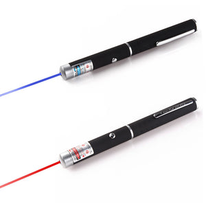 1 Pcs 2 colors laser pen 5miles 532nm Red Purple Laser Strong Pen Powerful 500M Black Pointer High Quality 96286 96287