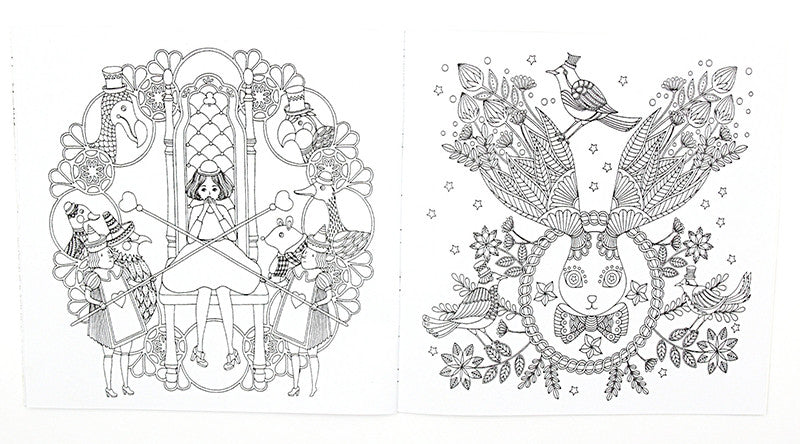 1 Pcs 24 Pages Fantasy Dream English Edition Coloring Book For