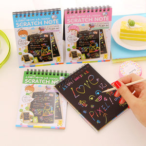 1 Pcs Cute Agenda Diary School Supplies Note Book Paper Sketch Sketchbook Notebook Korean Stationary For Kids