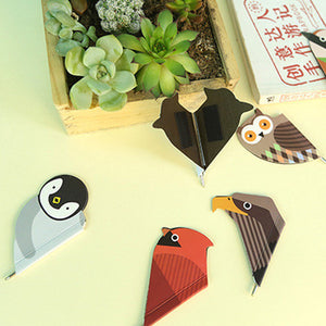 1 Pcs Cute Kawaii Korean Japanese Owl Bird Paper Magnetic Bookmark With 0.55mm Ballpen Ball Point Pen Office School Supplies