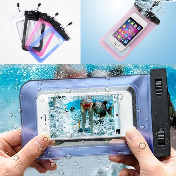 1 pcs NEW Transparent Waterproof Underwater Pouch Bag Dry Case Cover For Mobile Phone