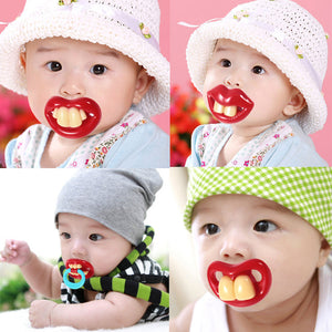 1 pic funny pacifiers nipple baby pacifier pacifier holder food Dummy Baby pacifiers feeder soothers clip Products for Babies