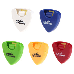 1 piece Alice Guitar Pick Holder Case - Color Random