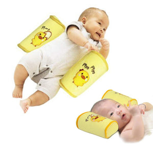 1 Piece Anti Roll comfortable cotton pillow Lovely cartoon baby toddler safety head Anti rollover Sleep Positioner