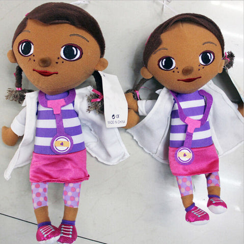 1 Piece Free Ship Doc McStuffins Clinic Soft Plush Stuffed Toy Kid Girl Christmas gifts Lovely Doctors Girls Toys