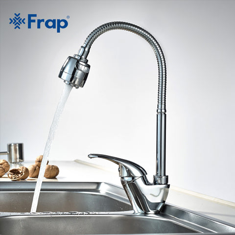 1 SET Free Shipping Brass Kitchen faucet Mixer Cold and Hot Kitchen Tap Single Hole Water Tap torneira cozinha