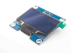 1.3 inch oled white display with 4PIN 4-SPI(default) I2C Drive IC SH1106