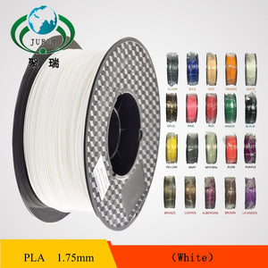 1.75mm PLA Filament 3D Printer Filament 1KG SPOOL WHITE