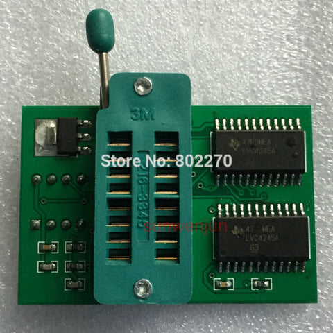 1.8V adapter for Iphone or motherboard 1.8V SPI Flash SOP8 DIP8 W25 MX25 can use on programmers such as SkyPro TL866CS TL866A