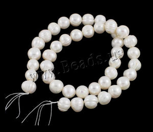 10-11mm white color A grade Natural Round Cultured Freshwater Pearl Beads 2016 DIY jewelry making accessories