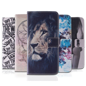 10 Fashion Patterns Flip Case for Samsung Galaxy S4 I9500 PU Leather Silicon Wallet Cover for Samsung S4 Case Coque Fundas Capa
