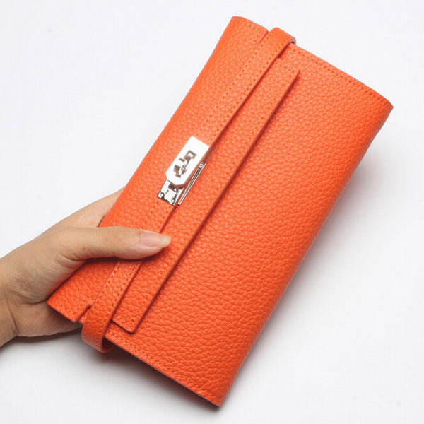 Svvtsscfap Solid Genuine Leather Wallet Women A6g118