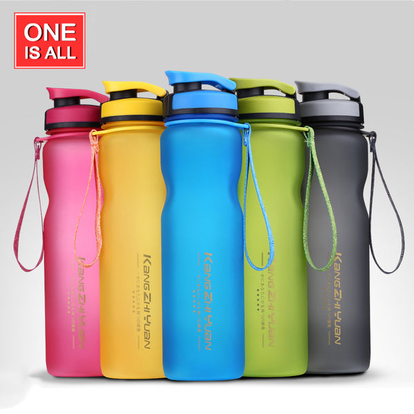 1000ML Sport Water Bottle Infuser Tea Sport Bottle BPA Free My Water Bottles 1000ml Scrub Portable Space Cup Bike Cycling Shaker
